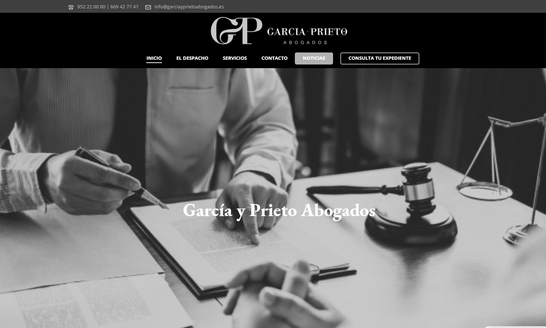 Página Web García y Prieto