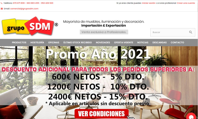 Diseño Web Grupo SDM