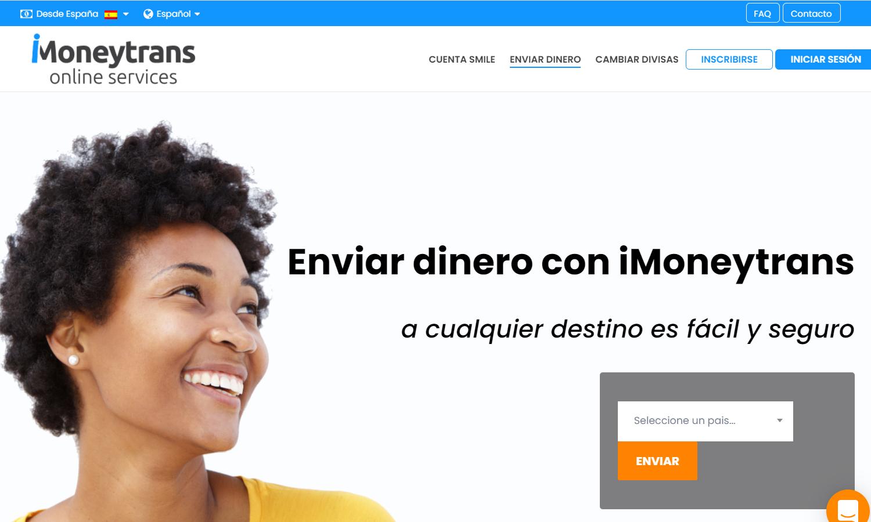 Página Web iMoneytrans