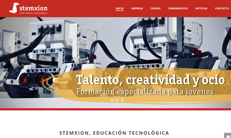 Página Web Stemxion