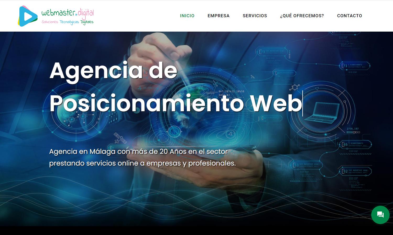 Página Web Webmaster Digital