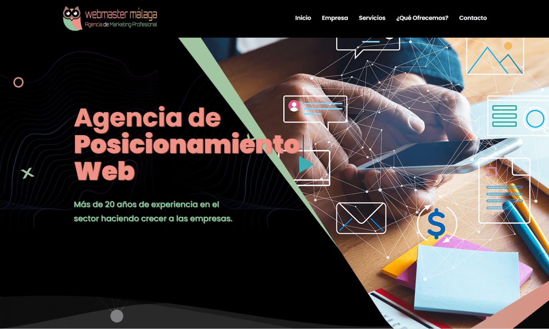 Página Web Wemaster Málaga