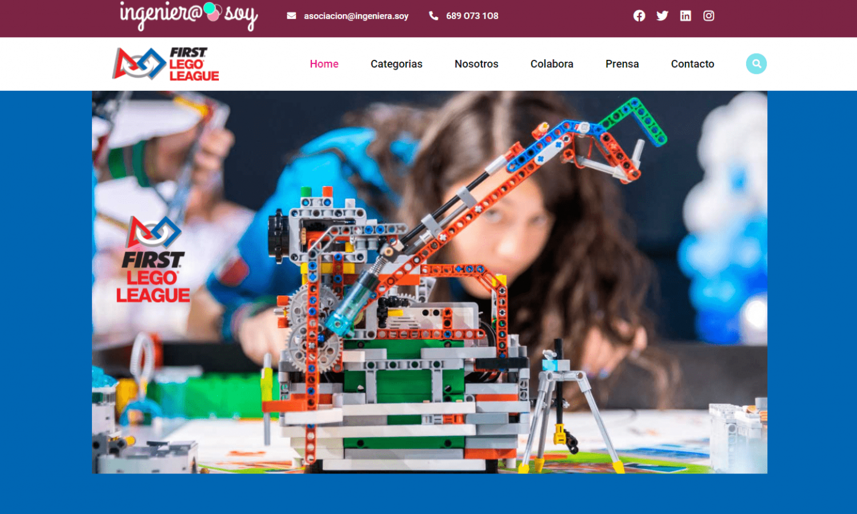 Página Web First Lego League