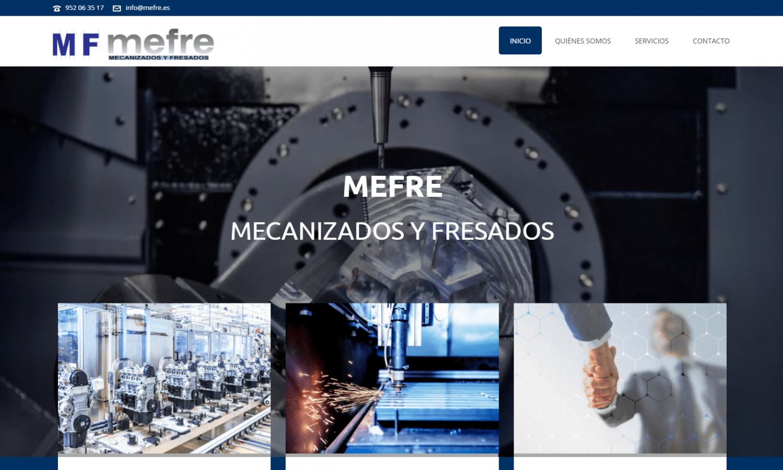 Página Web Mefre