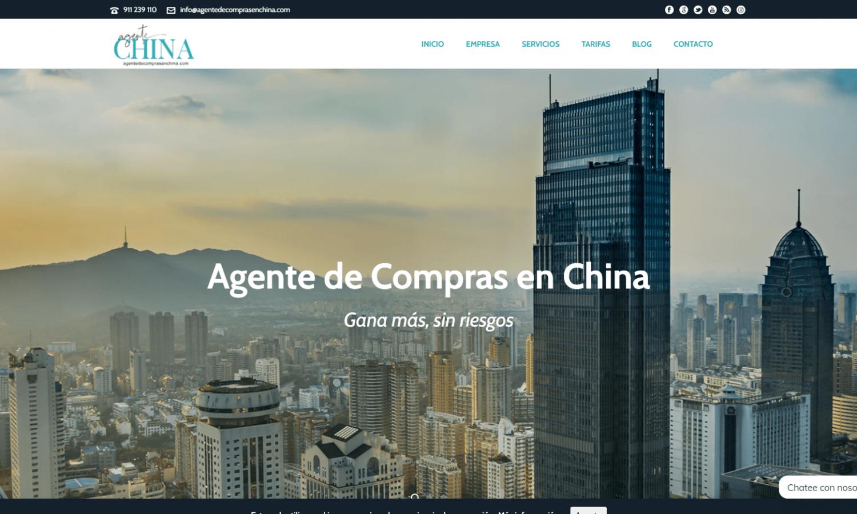 Página Web Agente de Compras en China